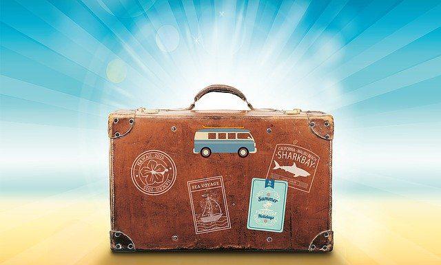 хубав куфар за пътуване